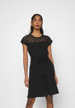 ONLY - ONLBILLA DRESS - Trikoomekko - black