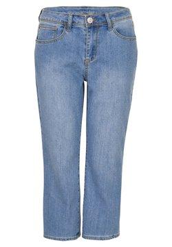 Miss E - Straight leg jeans - bleached denim