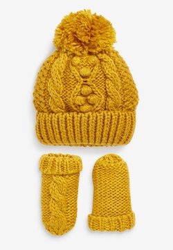 Next - CABLE  SET - Fingerhandschuh - yellow