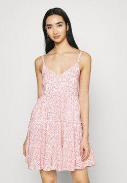 Hollister Co. - BARE FEMME SHORT DRESS - Kjole - pink