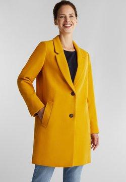 Esprit - Wollmantel/klassischer Mantel - brass yellow