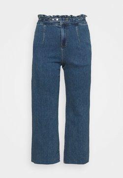 Simply Be - WIDE LEG - Jean boyfriend - vintage blue