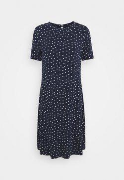 Marks & Spencer London - SPOT SWING - Jerseykleid - dark blue