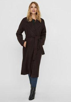 Vero Moda - Classic coat - chocolate plum