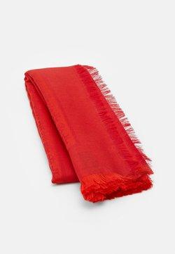 Tory Burch - LOGO TRAVELER SCARF - Huivi - bright red