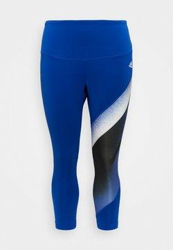 adidas Performance - Tights - royal blue/white