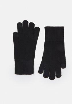 Marks & Spencer London - SOFT GLOVE - Fingerhandschuh - black