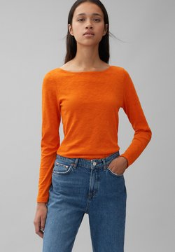 Marc O'Polo - LONG SLEEVE - Langarmshirt - pumpkin orange