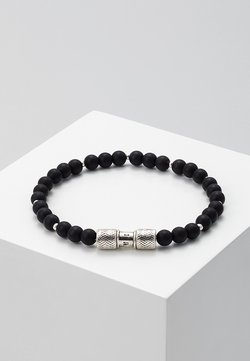 Icon Brand - HERRING BEADED BRACELET - Rannekoru - black