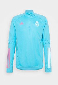 adidas Performance - REAL MADRID AEROREADY FOOTBALL - Club wear - light blue
