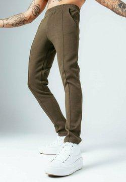 Hype - PIQUE - Jogginghose - khaki