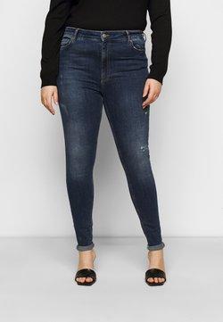 Pieces Curve - PCZELMA  - Jeans Skinny Fit - medium blue denim