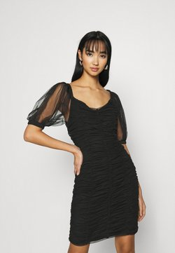 ONLY - ONLDANCE PUFF DRESS  - Cocktail dress / Party dress - black