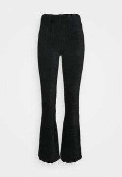 ONLY Tall - ONLFENJA LIFE FLARED PANT - Broek - black