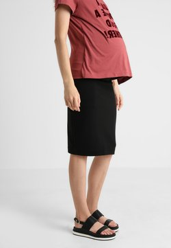 Boob - ONCE ON NEVER OFF PENCIL SKIRT - Falda de tubo - black