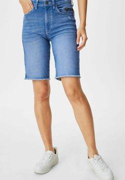 C&A - Szorty jeansowe - denim-blue