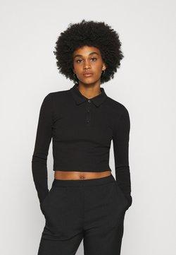 Weekday - ERIN - Koszulka polo - black