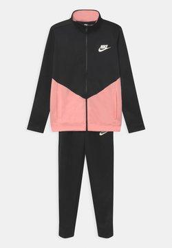 Nike Sportswear - CORE SET - Survêtement - black/bleached coral/white