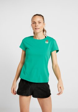 Reebok - TEE GAMES - T-Shirt print - emerald