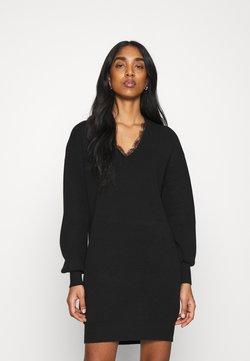 YAS - YASBRIDIE DRESS - Vestido de punto - black