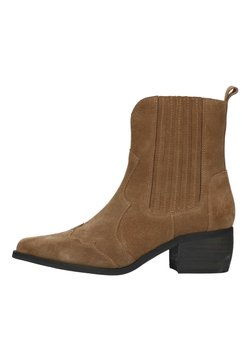 Manfield - Cowboy-/Bikerboot - taupe