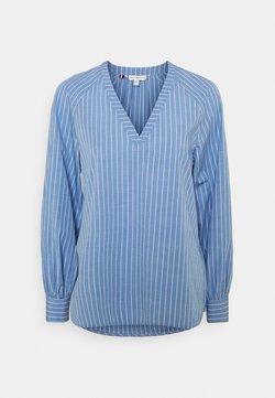 Tommy Hilfiger - BLOUSE - Langarmshirt - bio blue