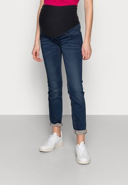 Lindex - MOM DOLLY - Vaqueros slim fit - denim