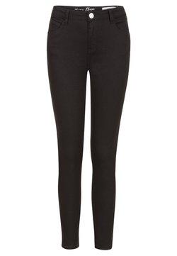 Miss E - RE BROEK  - Slim fit jeans - black
