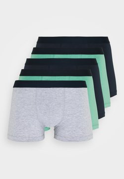Pier One - 5 PACK - Shorty - dark blue/green