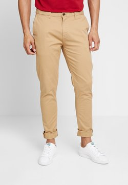 Scotch & Soda - STUART CLASSIC SLIM FIT - Chinot - sand