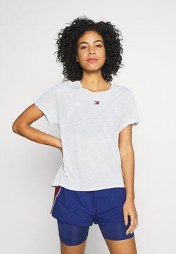Tommy Sport - PERFORMANCE - T-Shirt print - grey