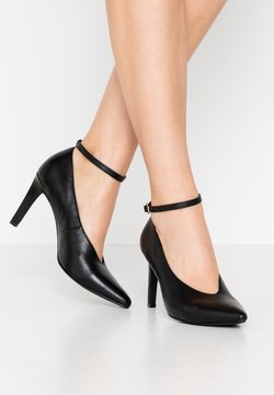 Anna Field - LEATHER PUMPS - Pumps - black