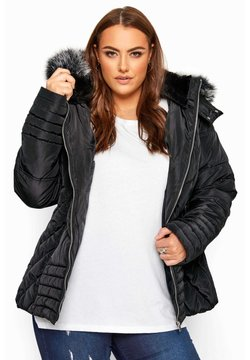 Yours Clothing - Winterjacke - black