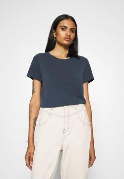 Monki - JOLIN  - T-shirt basic - blue dark running