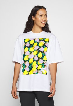 adidas Originals - GRAPHIC TEE - T-Shirt print - white