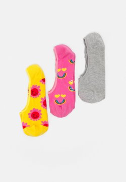 Happy Socks - SMILING FACE 3 PACK - Socquettes - multi