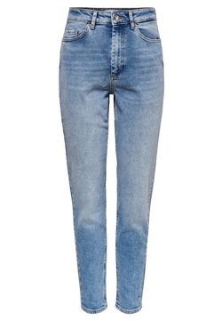 ONLY - ONLVENEDA LIFE MOM FIT JEANS - Jean slim - light blue