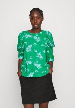 Lindex - BLOUSE MYNTA - Bluse - dark apple green