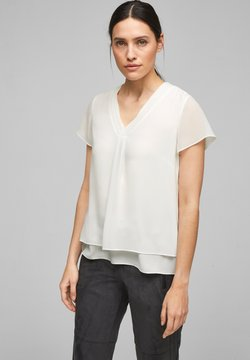 s.Oliver BLACK LABEL - Bluse - soft white