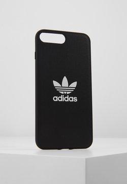 adidas Originals - MOULDED CASE TREFOIL LOGO CASE IPHONE 6+/6S+/7+/8+ - Kännykkäpussi - black/white