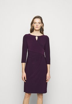 Lauren Ralph Lauren - MID WEIGHT DRESS TRIM - Vestido de tubo - raisin