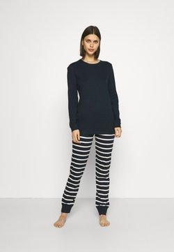 Schiesser - Pyjama - nachtblau