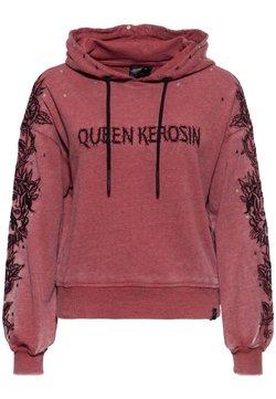 Queen Kerosin - Hoodie - burgund