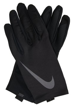 Nike Performance - PRO WARM MENS LINEAR GLOVES - Fingervantar - black/dark grey