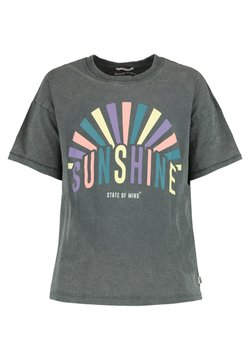 America Today - ELAINE  - T-shirt print - washed grey