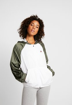 Tommy Sport - LINED WITH BACK LOGO - Windbreaker - white
