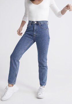 Superdry - SUPERDRY HIGH RISE STRAIGHT JEANS - Straight leg jeans - blue