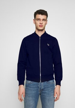 PS Paul Smith - BOMBER JACKET - Felpa aperta - navy