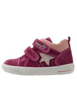 Superfit - MOPPY - Sneakers hoog - rot/grau/lila