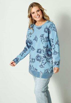Janet & Joyce by HAPPYsize - Sweatshirt - blau